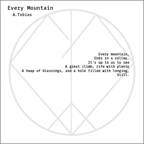 2018.5.23- Every Mountain