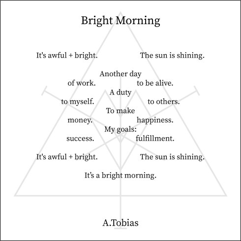 2018.11.7- Bright Morning